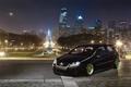 Картинка город, огни, вечер, Volkswagen, Golf, GTI5