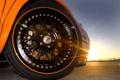 Картинка закат, Lotus, диск, лотус, солнечный свет, ораньжевый, Esprit