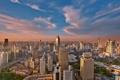 Картинка небоскребы, утро, Китай, Шанхай