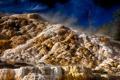 Картинка небо, деревья, камни, Вайоминг, USA, США, Wyoming