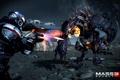 Картинка бой, Тварь, Шепард, Mass Effect 3, Shepard, Жнец
