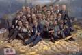 Картинка люди, арт, американцы, сша, Liberalism Is A Disease, картина