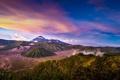 Картинка пейзаж, природа, Индонезия, панорама, Ява, Tengger, вулканический комплекс-кальдеры Тенгер