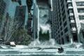 Картинка city, город, небоскребы, Апокалипсис, storm, fantastic, tsunami