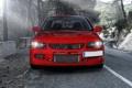 Картинка красный, перед, Mitsubishi, red, Evo, митсубиши, эволюшн
