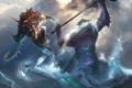 Картинка море, Dota 2, Slardar, Slithereen Guard