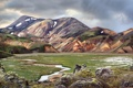 Картинка долина, небо, природа, горы, река, тучи
