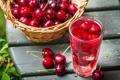 Картинка сок, вишня, cherries