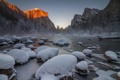 Картинка Yosemite National Park, Frozen, Gates of the Valley