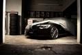 Картинка Black, Garage, vossen wheels, BMW 7_series