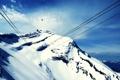 Картинка небо, снег, горы, фото, гора, красота, красиво