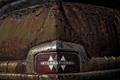 Картинка фон, International, rusty truck