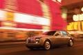 Картинка Rolls Royce, 2009, ночь, огни, ночной город, фантом, ролс ройс