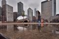 Картинка chicago, миллениум парк, парк, небоскребы, чикаго