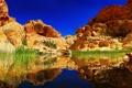 Картинка горы, природа, озеро, отражение, Пейзаж