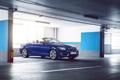 Картинка BMW, German, Car, Blue, Cabriolet, Garage, 220D