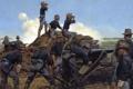 Картинка кавбои, пушка, солдаты, Artillery, Utah Light, война