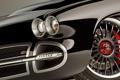 Картинка чёрный, фары, тюнинг, Corvette, Chevrolet, диски, tuning