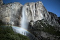 Картинка лес, National Park, водопад, природа, горы, радуга