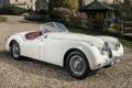 Картинка белый, Roadster, Jaguar, Ягуар, родстер, XK120
