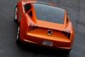 Картинка оранжевый, спорт, mustang, concept, ford, giugiaro