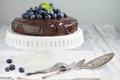 Картинка черника, торт, десерт, шоколадный