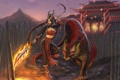 Картинка оружие, Девушка, воин, рысь, League of Legends