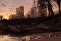 Картинка город, арт, америка, GTA V, los Santos