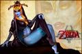 Картинка art, ноги, грудь, девушка, The Legend of Zelda: Twilight Princess, fan art