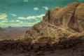 Картинка небо, горы, скала, камни