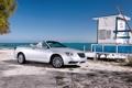 Картинка Пляж, Авто, Chrysler, Машина, Кабриолет, Серый, Серебро