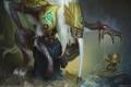 Картинка CG wallpapers, God of pretence, Shekhovtsov Oleg, Russia, марионетка, приколы, монстры