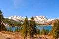Картинка пейзаж, горы, природа, озеро