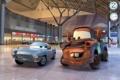 Картинка машины, спорт, мультфильм, Мир, гонки, sport, Pixar