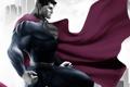 Картинка superman, плащ, супермэн