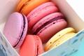 Картинка сладость, выпечка, коробочка, macaroons