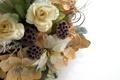 Картинка белый, листья, цветы, праздник, новый год, рождество, christmas