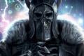 Картинка шлем, мех, доспех, The Witcher 3