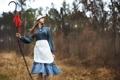 Картинка девушка, природа, ведьма