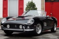Картинка фары, Ferrari, кабриолет, Ferrari 250 Spider California