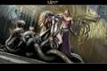 Картинка змеи, девушка, демон, ravine heretic and the sinner