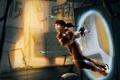 Картинка девушка, Portal 2, Портал 2, Челл, Chell, портал ган