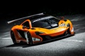 Картинка McLaren, Дорога, Спорт, Оранжевый, День, Фары, Автомобиль
