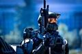Картинка Halo, video game, фантастика, воин, хало, оружие