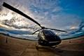 Картинка авиация, небо, вертолёт