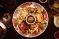 Картинка блюдо, закуски, экзотика, ассорти, мясо