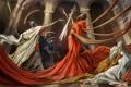 Картинка смерть, меч, art, скилет, Le Serment des Horaces, клятва горациев