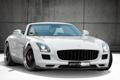 Картинка SLS, белый, Kicherer, мерседес, тюнинг, Mercedes-Benz, Roadster
