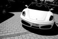 Картинка белый, F430, Ferrari, white, феррари