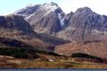 Картинка деревья, пейзаж, горы, дом, шотландия